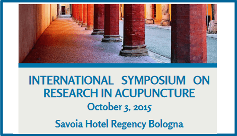 International Symposium on Research in Acupuncture
